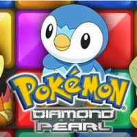 Blocos coloridos do Pokemon
