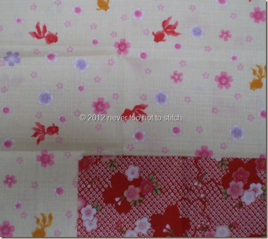 2012 Japanese fabrics from Val's giveaway