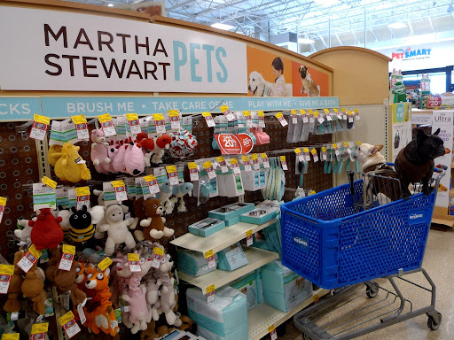 Franny, it's good to see that there's a very nice selection of Martha Stewart Pets products here.  Franny?  What are you looking at?