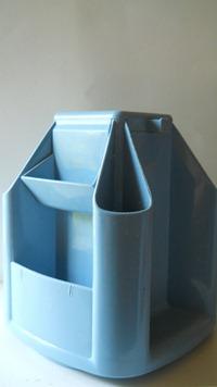 Ancona Kamenstein desk organizer, blue