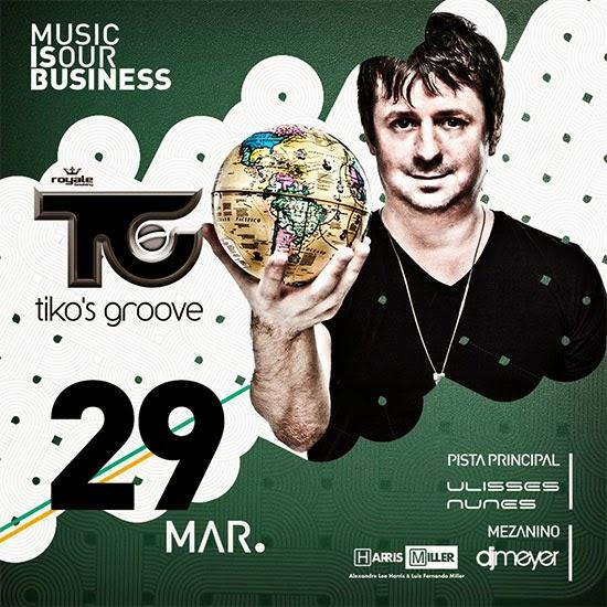 Tiko's Groove na Anzu Club em Itu