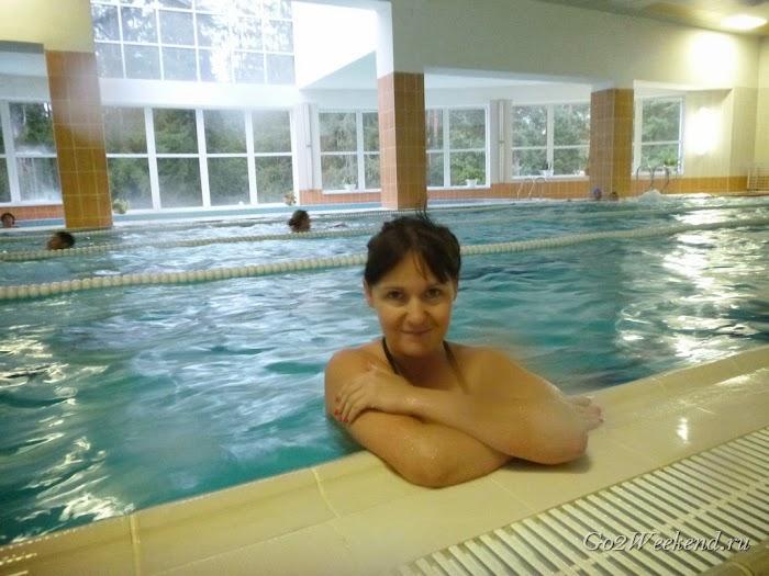 Беловежская пуща гостиница Каменюки бассейн