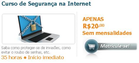 Curso de Segurança na Internet