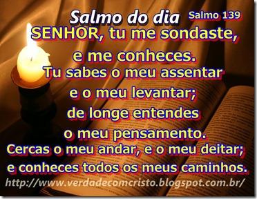 SALMO DO DIA 139