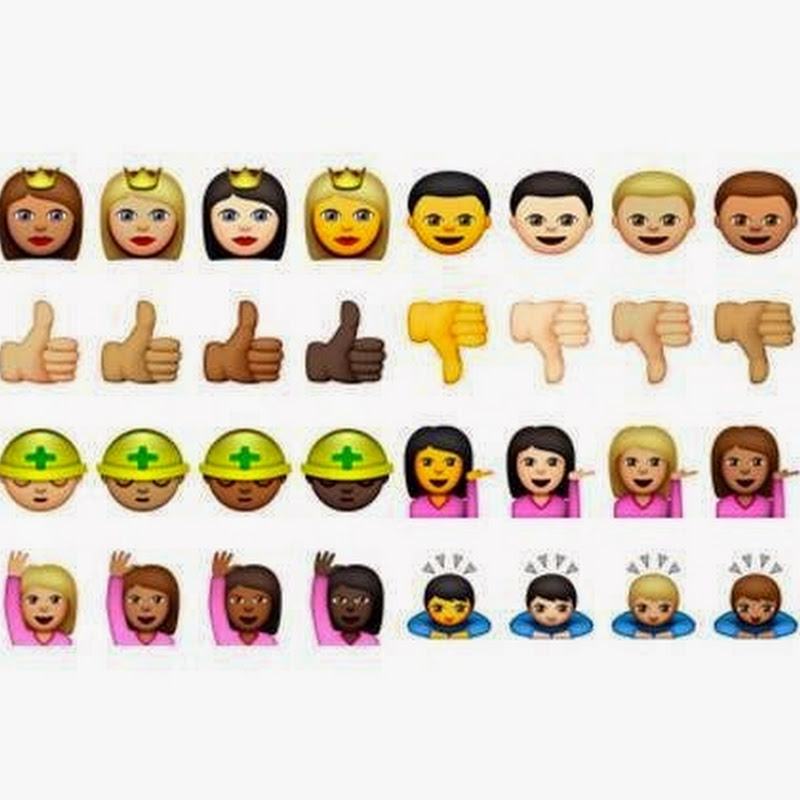 "Apple Finalmente Inclui ""Emojis Negros"""