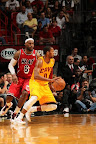 lebron james nba 130224 mia vs cle 01 LeBron Debuts Prism Xs As Miami Heat Win 13th Straight