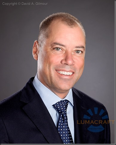 Business portrait of Burlington home builder Steve S., produced by Lumacraft Photography.