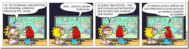 080223 chiste television lcd plasma telebasura historieta humor grafico