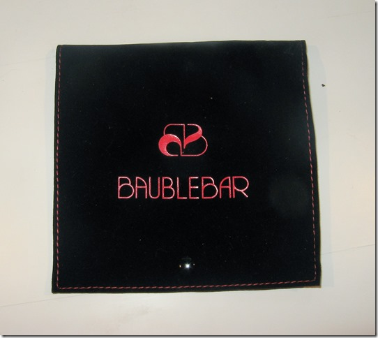 Bauble Bar Pouch