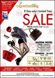 LovethatBag Handbags Warehouse Sale Event 2013 Singapore Deals Offer Shopping EverydayOnSales