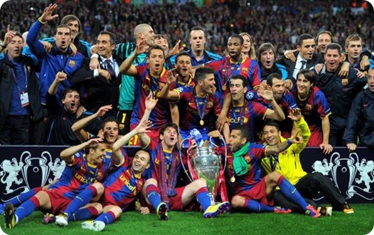 barça champions 2011