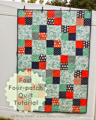 fast-four-patch-quilt-tutorial