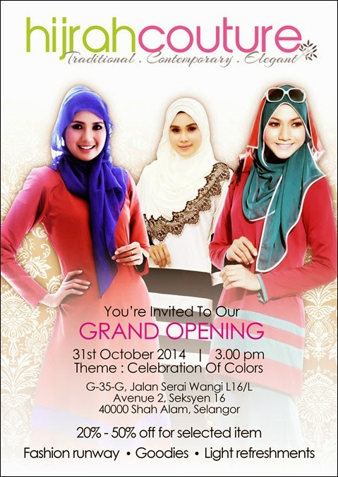 Poster Hijrah Couture