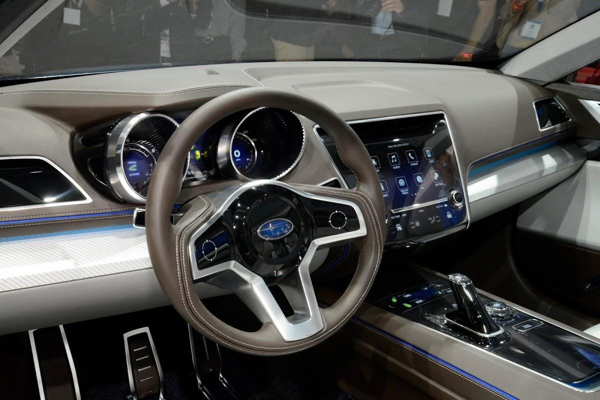 Subarus 2015 legacy concept looks good in the flesh subaru legacy concept 6 vanachro Image collections