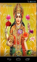 Screenshot of Goddess Lakshmi HD LWP