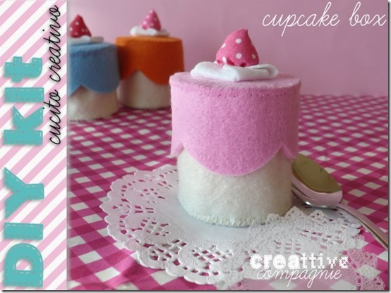 creattivecompagnie- cucito creativo - CUPCAKE BOX