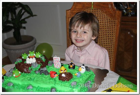 Alex 5th birthday Daniela Dobson