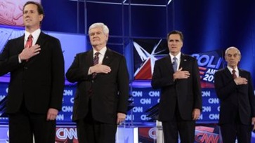 Santorum_Gingrich_Romney_Paul_Florida