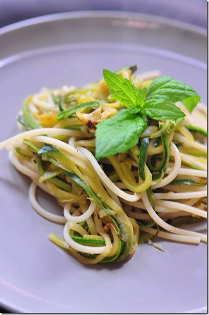 zucchini spaghett