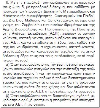 Περνάει και παραπερνάει αν θέλει ο Αρβανιτόπουλος το προεδρικό διάταγμα
