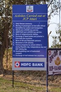 Border notice