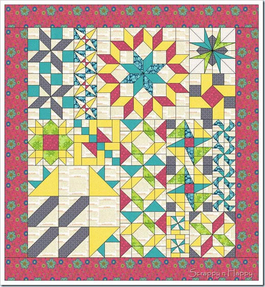 Quilt for middle category 1