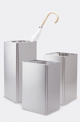 These umbrella stands are perfect for the minimalist. (coatracksandmore.com)