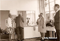 Feest ter gelegenheid van de heropening in juni 1971.