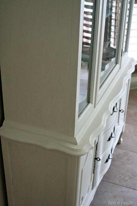 White French Hutch