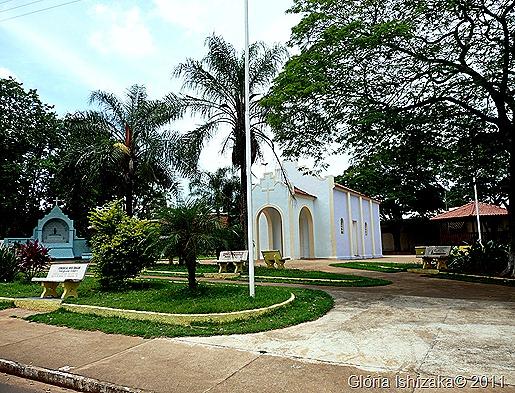 Glória Ishizaka - Guaiçara -  igreja de são benedito