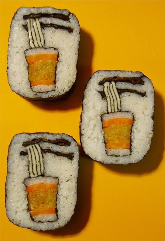 Pintura em Sushi (6)