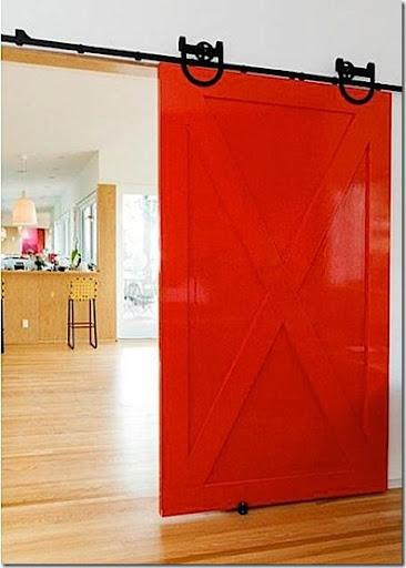 Marvelous Red Interior Door