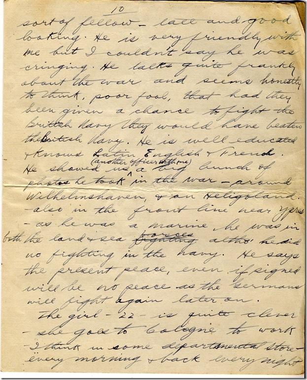 1 June 1919 10