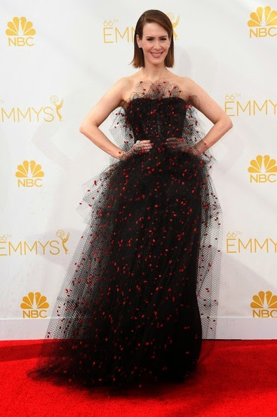 Sarah Paulson attends the 66th Annual Primetime Emmy Awards