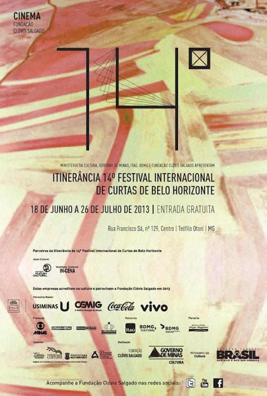 convite web 14 festcurtas Teófilo Otoni