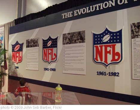 'NFL logos' photo (c) 2009, John Seb Barber - license: http://creativecommons.org/licenses/by/2.0/