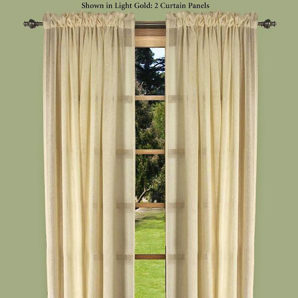 J745 001 Sheer Curtain Panels