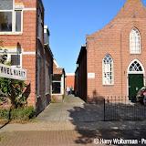 Rommelmarkt bij baptistenkerk Nieuwe Pekela - Foto's Harry Wolterman