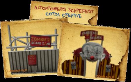 AltonTowers ScareFest (cotda creative) lassoares-rct3