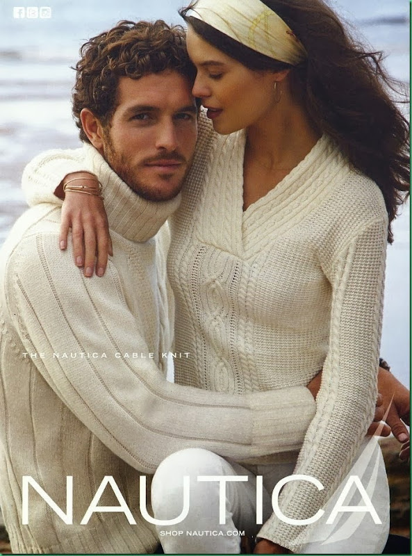 Justice Joslin for Nautica Holiday 2013