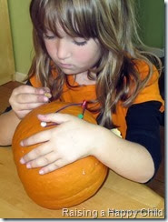 Afterschool for Smarty Pants: Pumpkin Geoboard