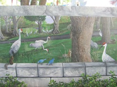 Florida Marriott Cypress Harbour outside wall mural4