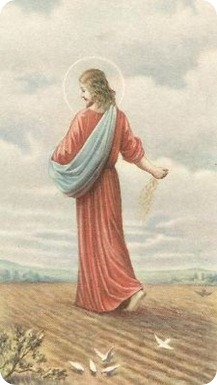 Sower of Seed Holy Card