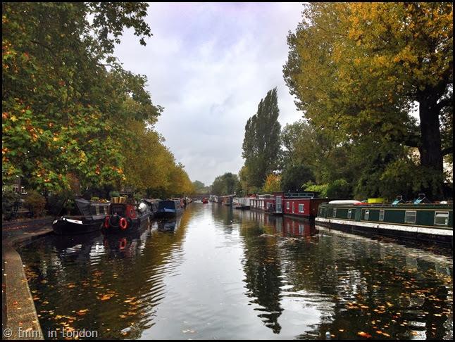 Regent's Canal at Paddington Basin