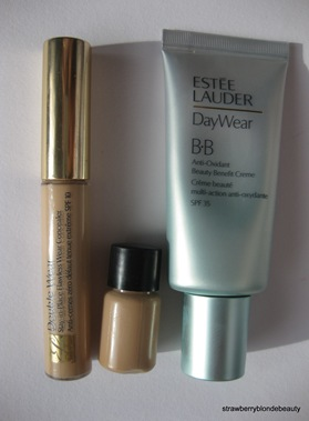 Estee Lauder BB Cream 01 Light, Concealer Light