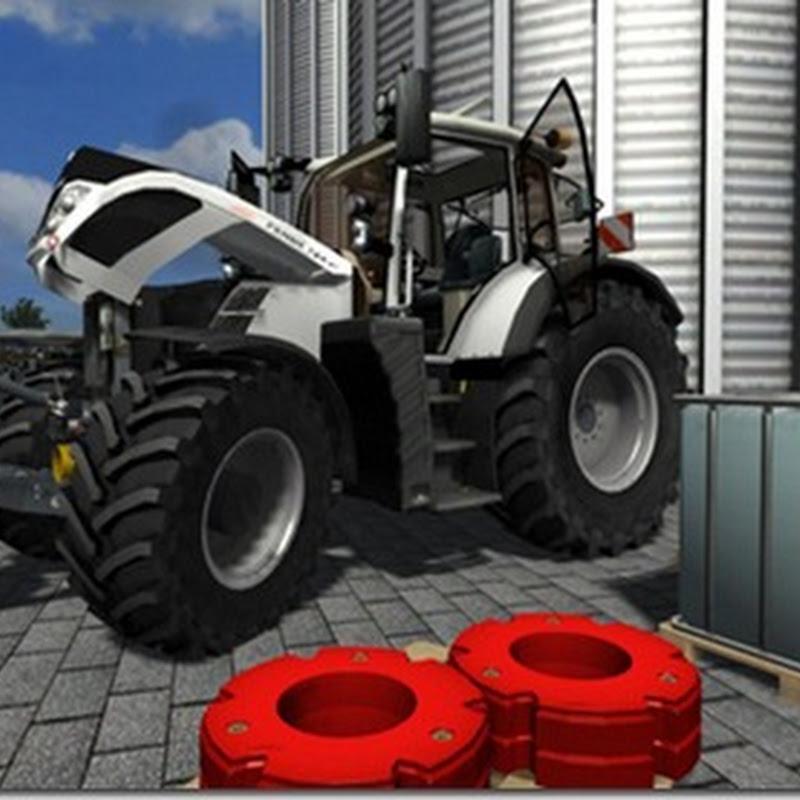 Farming simulator 2011 - Fendt Vario 724 SCR Sonderlakierung Weiss