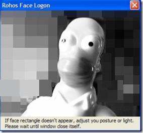 Rohos Face Logon Freeware registrazione volto