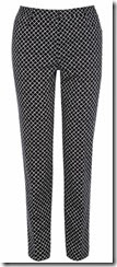 Oasis Diamond Printed Trouser