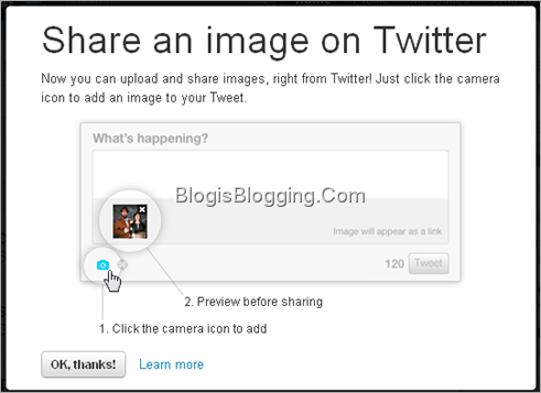How To Upload And Share Images on Twitter