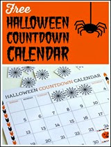 Printabelle via Catch My Party Halloween Countdown